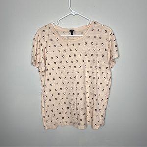 J. Crew XOXO T-shirt size Medium
